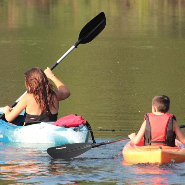 Spy Pond kayak