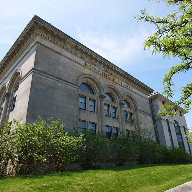 Arlington MA robbins library